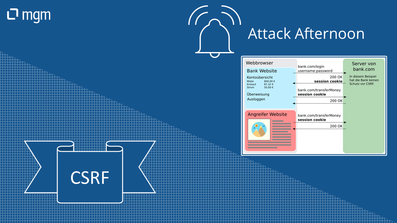 Attack Afternoon – CSRF
