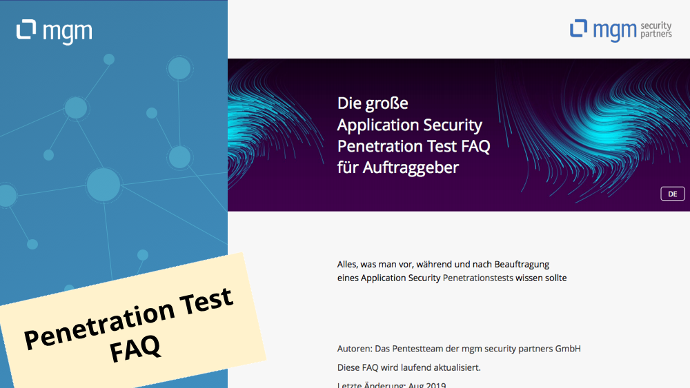 Die große Application Security Penetration Test FAQ für Auftraggeber
